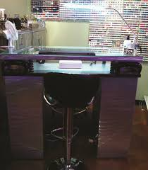 Nail Tech Desk by Mani Table With The Works Style Nails Magazine
