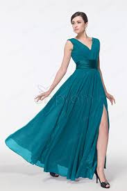 teal dresses for wedding dress prom dress with slit teal color prom dress prom