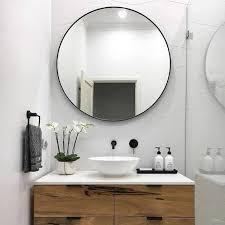 bathroom round mirror enthralling round bathroom mirror cabinet majestic looking in