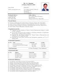 Biologist Resume Sample by Resume Sample Teacher