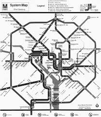 Washington Dc Subway Map 1990s Metro Fantasy Map U2013 Greater Greater Washington