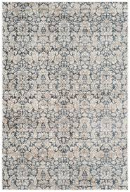 Moroccan Tile Rug Navy And Cream Rug Roselawnlutheran