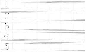 free worksheets preschool number tracing worksheets 1 20 free