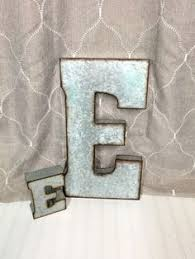 metal letters wall decor wall metal letter galvanized large metal letters farmhouse letters galvanized letter industrial