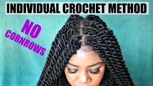 savannah braids hairstyles diy individual crochet havana twists no cornrows no tension