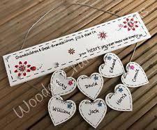 grandparent plaques grandparent plaques with hearts ebay