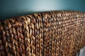 pottery barn wicker headboard 65 outstanding for queen size