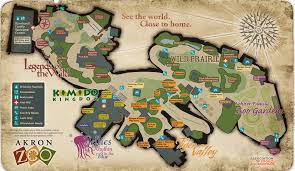 of akron map akron zoo maplets