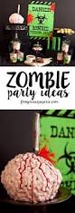 halloween sweet 16 party ideas zombie party ideas and gruesome recipes frog prince paperie
