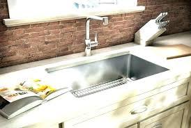 Stainless Kitchen Sinks Undermount White Cast Iron Undermount Kitchen Sink K 0 Executive Chef Cast