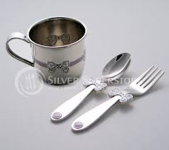 silver plated baby gifts baby gifts in nickel plate silver plate pewter