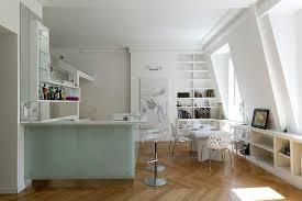 cuisine en verre blanc cuisine lineaquattro en verre blanc