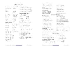 factoring cheat sheet google search