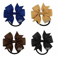 the ribbon boutique wholesale wholesale 20 colors hair bow ties ribbon boutique ponytail holder