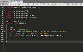 tutorial netbeans y mysql creating a restful service with java and jersey with netbeans