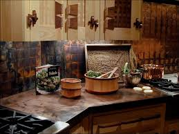 kitchen room awesome copper penny tile backsplash hammered