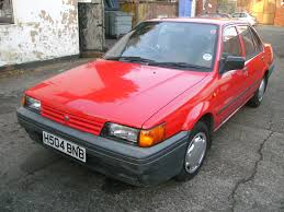 nissan sunny 1990 1990 nissan sunny 1 6 gs auto n13 both bumpers are scuffed u2026 flickr