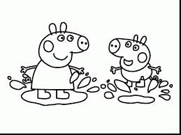 unbelievable cartoon peppa pig coloring pages with pig coloring