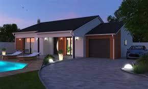maison 3 chambres plain pied amazing modele de cuisine contemporaine 14 maison 3 chambres