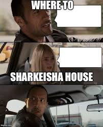 Sharkeisha Meme - the rock driving meme imgflip