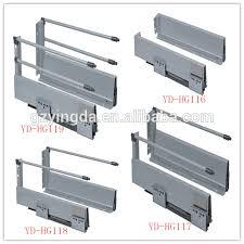 Kitchen Cabinet Drawer Guides Kitchen Cabinet Drawer Slide Parts Metal Box Drawer Slides Soft