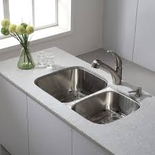 sinks faucets interesting double bowl undermount kitchen sink
