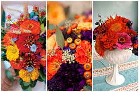 beautiful zinnia wedding bouquets floret cadet