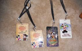 disney little things magic kingdom special event lanyards cast