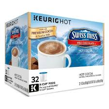 swiss miss light cocoa k cups swiss miss milk chocolate cocoa keurig k cups target