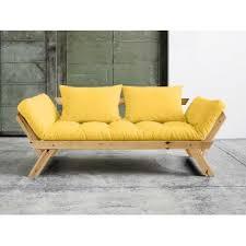 futon canap convertible 20 sur canapé convertible en bois miel avec matelas futon bebop