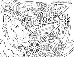 fucketry swear word coloring page coloring page