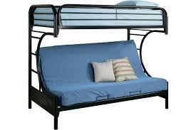 Bunk Beds Black Black Bunk Bed With Futon Bm Furnititure