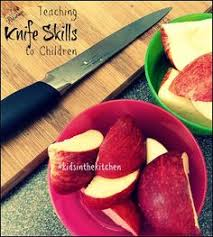 safety in the kitchen is very important have children review the