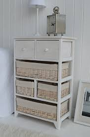 Bathroom Drawer Storage by Cape Cod Large Storage Furniture With 6 Drawers Including Baskets
