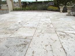 garden and patio deck with hardwood floor tiles soil mix for