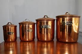copper canister set kitchen top 28 copper kitchen canister sets 4 pc copper kitchen