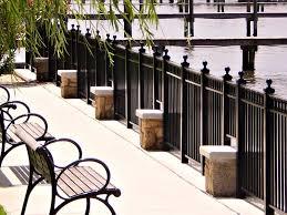 aluminum railing system products aluminum deck railing and more