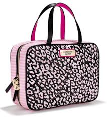 Makeup Travel Bag images Victoria 39 s secret hanging travel case cosmetic bag leopard wow ebay jpg