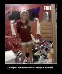Clean Room Meme - clean your room before a selfie