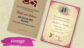 Single Card Wedding Invitations Kards Creative Indian Wedding Invitations Caricature