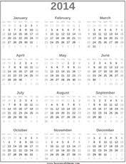 2014 yearly calendar template 100 images 2014 calendar