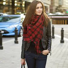 how to revive plaid scarf with winter dresses ideas u2013 girls hijab