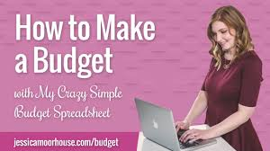How To Do A Simple Spreadsheet How To Make A Budget With My Crazy Simple Budget Spreadsheet Youtube