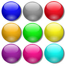 clipart game marbles simple dots