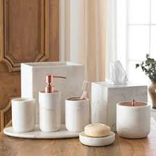 ideas for bathroom accessories anthropologie s new arrivals organizing storage copper