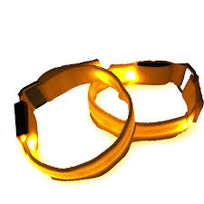 Halloween Safety Lights by Amazon Com Led Sports Armband Flashing Safety Light For Running