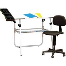 Chair For Drafting Table Drafting U0026 Sewing Tables You U0027ll Love Wayfair