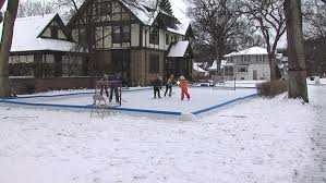 hockey house embraces winter with front yard rink wday