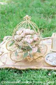 Cinderella Wire Carriage Centerpieces by Cinderella Princess Carriage Centerpiece U0026 Card Holder 16