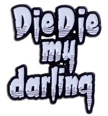 misfits halloween lyrics misfits die my darling enamel pin sourpuss clothing